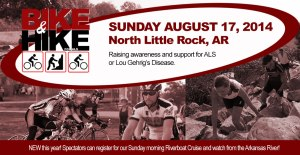 Bike & Hike for ALS 2014