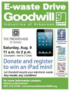 Goodwill E-Waste Drive