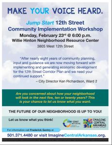 12th Street Corridor Public Meeting