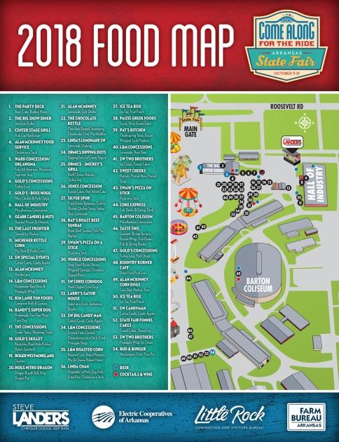 ASF 2018 Media Kit - FOOD MAP