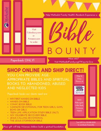 2019 Bible Bounty Flyer